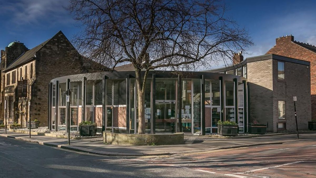 Jesmond Library Newcastle upon Tyne Exterior